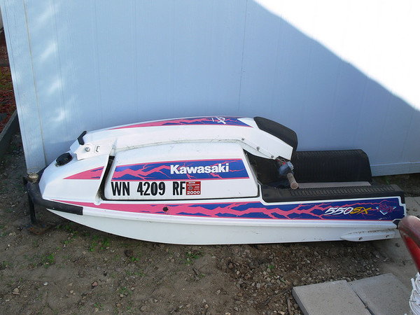 yamaha jet boaters • view topic - 1991 waverunner got stuck in