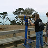 Visiting my nephew Jeff at Camp Ocean Pines near Cambria, CA